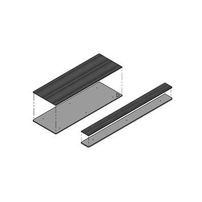 Kindermann Carrier for individual surfaces, for CablePort flex 4-fold Montagekit - Grijs