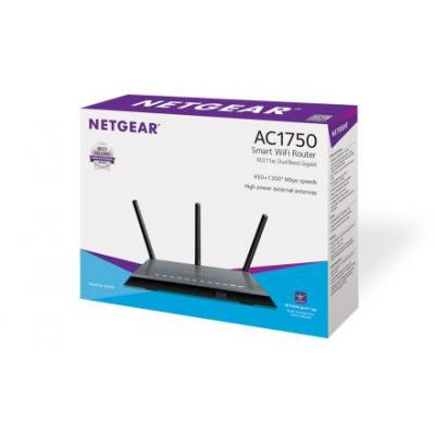 Netgear wireless router: R6400 - Wireless-AC en Dual Band - Zwart