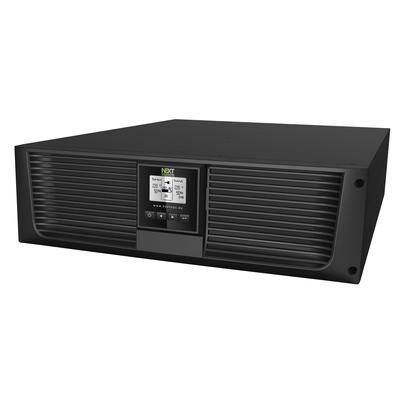 NEXT UPS Systems Logix II 6000 RT3U NETPACK UPS - Zwart