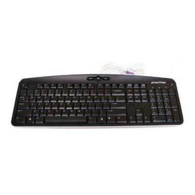 Acer toetsenbord: Keyboard PS2 104key Chicony Kb-0705 Black Us International - Zwart, QWERTY