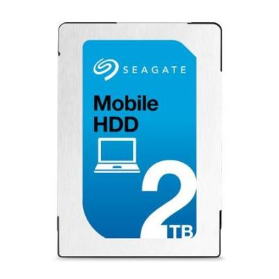 Seagate interne harde schijf: 2TB, SATA 6Gb/s, 128MB, 512/4,096, 13 ms, 140MB/s, 600 cycles, 400Gs, RoHS compliance