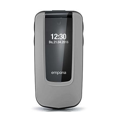 Emporia mobiele telefoon: COMFORT - Zwart, Zilver