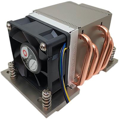 Inter-Tech A-26 Hardware koeling - Zwart, Zilver