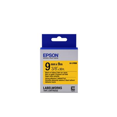 Epson LK-3YBW Labelprinter tape