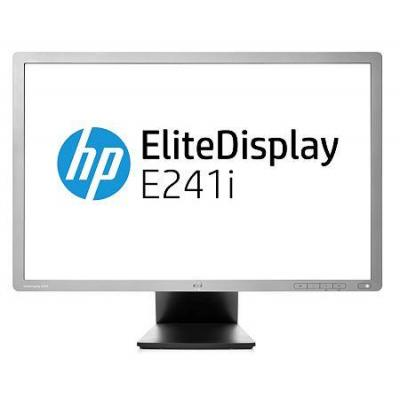 HP EliteDisplay E241i Monitor - Zilver - Refurbished B-Grade