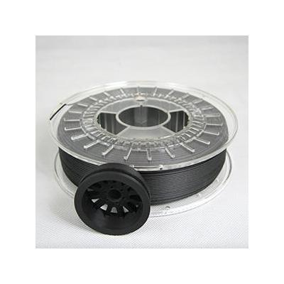 German reprap 3D printing material: Carbon20 Filament 750g, 1.75 mm - Mat Zwart