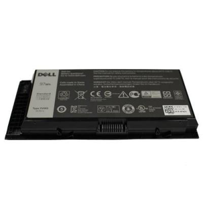 Dell batterij: FV993 - Zwart