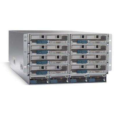 Cisco netwerkchassis: UCS 5108 Blade Server Chassis - Grijs