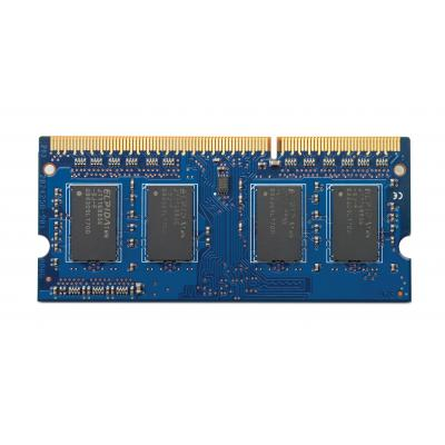 Hp RAM-geheugen: 8GB PC3-12800 (DDR3 1600 MHz) SO-DIMM