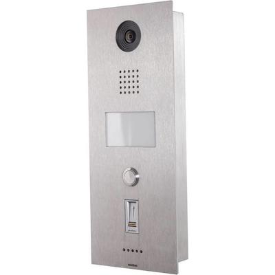 Wantec 4031 Deurintercom installatie - Roestvrijstaal