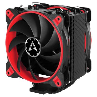 Arctic Hardware koeling: Freezer 33 eSports Edition (Red) - Tower CPU Cooler with Push-Pull-Configuration - Zwart, Rood