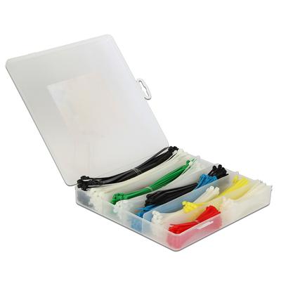 DeLOCK 18629 Kabelbinder - Multi kleuren