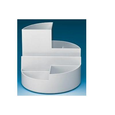 Maul houder: Round Box. White