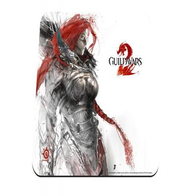 Steelseries muismat: QcK Guild Wars 2 Eir Edition - Wit