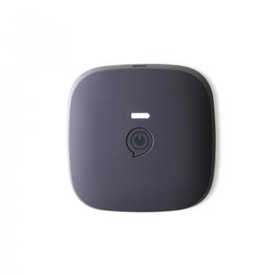 Zens powerbank: Portable Power Pack Black 3000 mAh – Wirelessly Rechargeable - Zwart, Zilver