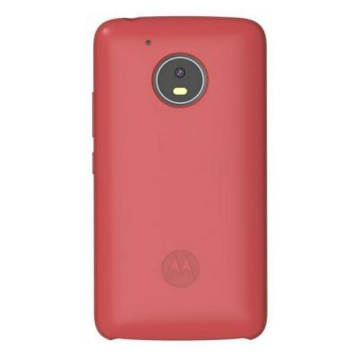 Lenovo mobile phone case: Silicone Back Cover for Moto G5 - Rood
