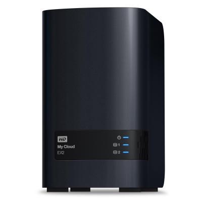 Western digital NAS: My Cloud EX2, 4TB - Zwart