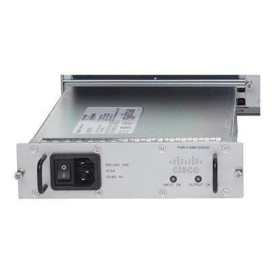 Cisco switchcompnent: Catalyst 4900M AC power supply, 1000W, Redundant - Grijs