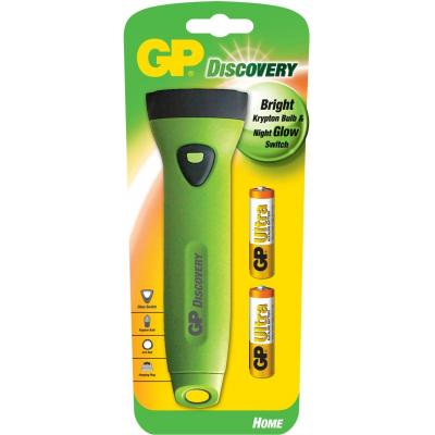 Gp batteries zaklantaarn: Torch incl. 2 x 15AU - Groen