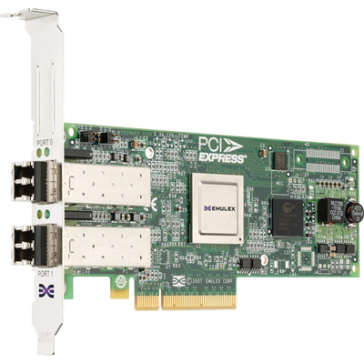DELL Emulex LPe12002 Interfaceadapter - Groen, Roestvrijstaal