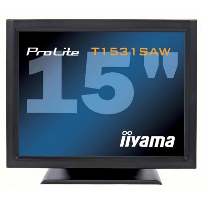 Iiyama touchscreen monitor: ProLite T1531SAW-B1 - Zwart