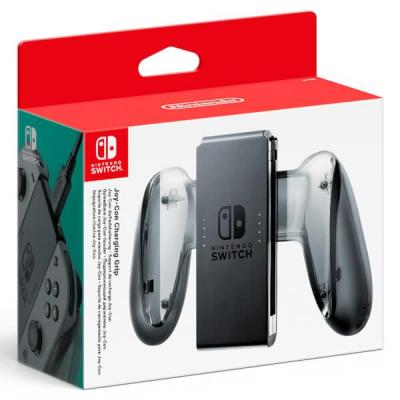 Nintendo : Switch Joy-Con Charging Grip - Zwart