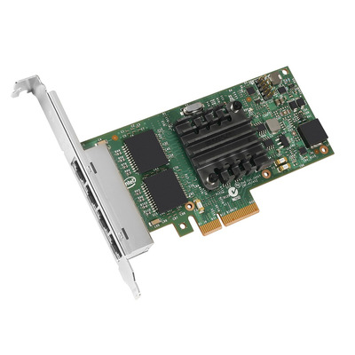 Lenovo netwerkkaart: Intel I350-T4 4xGbE BaseT - Groen, Metallic