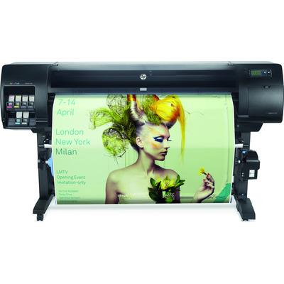 Hp grootformaat printer: Designjet Z6610 - Cyaan, Licht Grijs, Magenta, Mat Zwart, Foto zwart, Geel