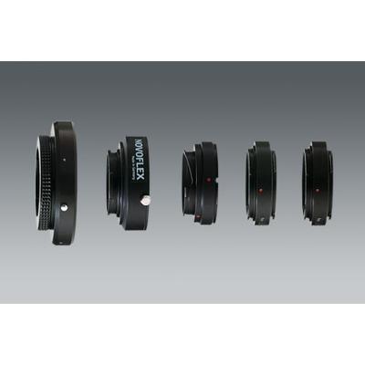 Novoflex lens adapter: EOS/NIK Adapterring - Zwart