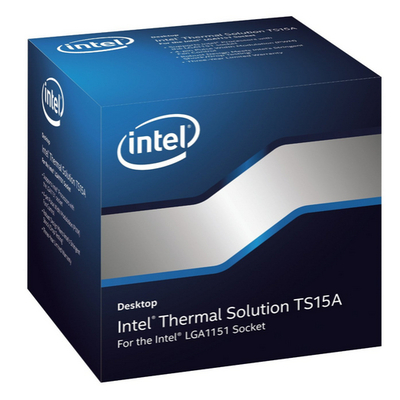 Intel Thermal Solution BXTS15A Hardware koeling