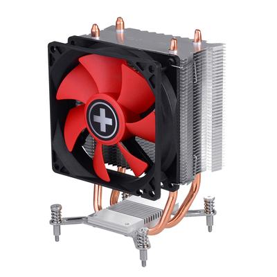 Xilence I402 Hardware koeling - Zwart, Rood, Zilver