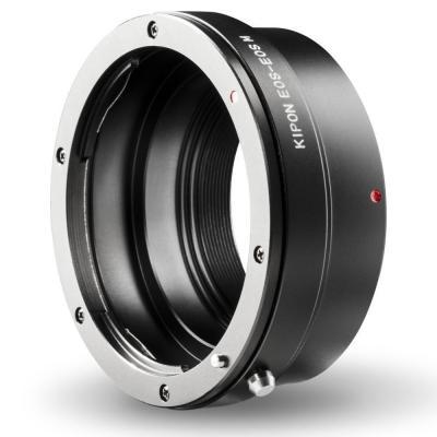 Kipon lens adapter: Canon EOS EF / Canon EOS M, Black - Zwart