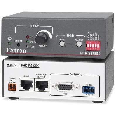 Extron MTP RL 15HD RS SEQ Reciever - Zwart