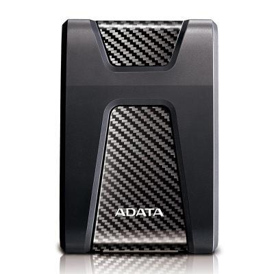 Adata externe harde schijf: HD650 - Zwart, Koolstof