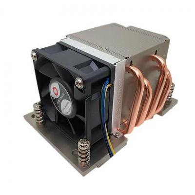 Dynatron 8000 RPM, 53 dB, 43.75 cfm, 79x119x65mm, 450g, Aluminium/Black Hardware koeling - Aluminium, Zwart