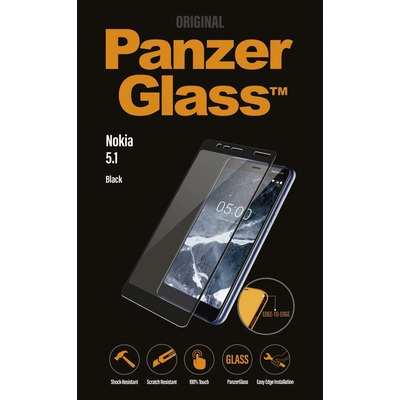 PanzerGlass Nokia 5.1 Edge-to-Edge Screen protector - Transparant