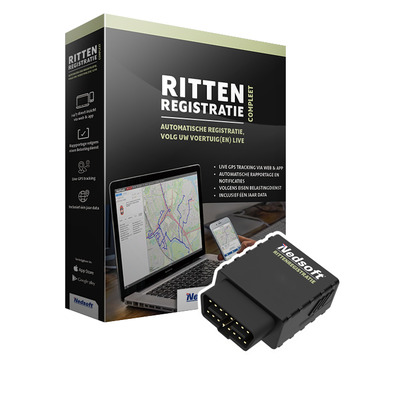 Nedsoft RittenRegistratie Compleet GPS tracker