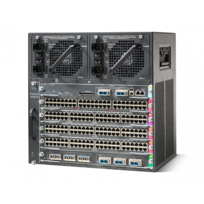 Cisco Catalyst E-Series 4506 switch (6-slot chassis), fan, no power supply Netwerkchassis - Zwart