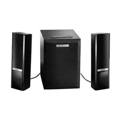 Hercules luidspreker set: 2.1 Gloss Bluetooth - Zwart