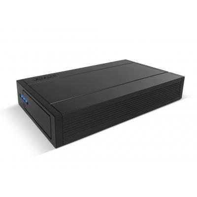 "Sitecom behuizing: MD-393 USB 3.0 Hard Drive Case SATA 3.5"" - Zwart"