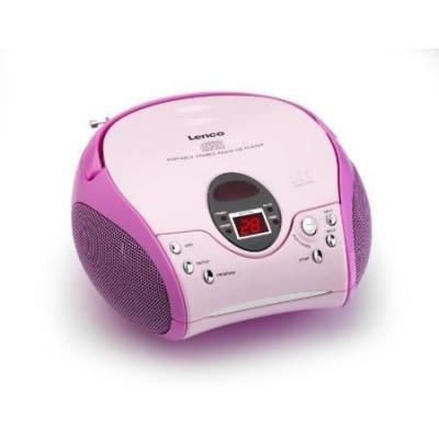 Lenco CD speler: SCD-24 - Roze