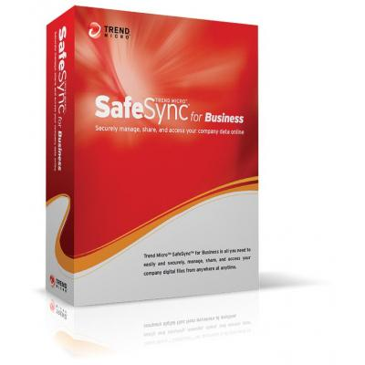 Trend micro opslagnetwerk tool: SafeSync for Business, 5u, 1Y