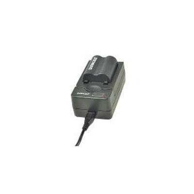 Duracell oplader: USB, 5V, Replacement f/ Panasonic CGA-S001/DMW-BCA7/CGA-S06 - Zwart