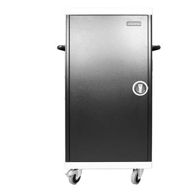 Leba NoteCart UniFit voor 32 iPad Portable device management carts & cabinet - Zwart, Grijs