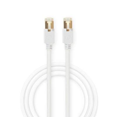 Nedis CAT6 S/FTP Network Cable, RJ45 (8P8C) Male - RJ45 (8P8C) Male, 15 m, White Netwerkkabel - Wit