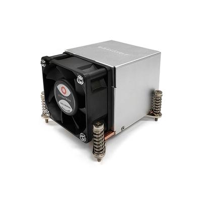 Inter-Tech K-650 Hardware koeling - Aluminium,Zwart