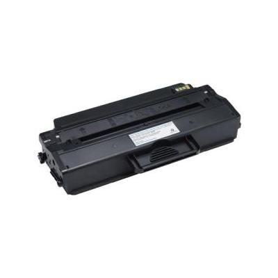 Dell toner: Toner Cartridge, Black, Laser, 2500 pages - Zwart