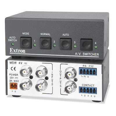 Extron MSW 4V rs Video switch