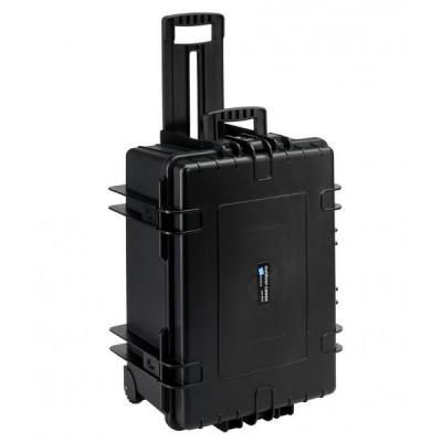 B&w apparatuurtas: type 6800, 70.9 L, black - Zwart