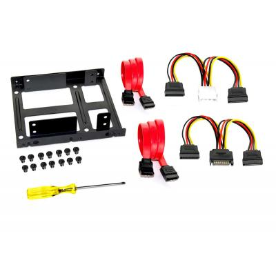 Fantec Mounting Frame for 2x 2,5 Zoll HDD/SSD
